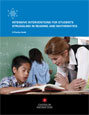Image for Intensive Interventions for Students Struggling in Reading and Mathematics.